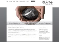 Homepage Arte