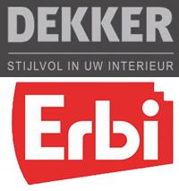 Logo's Dekker en Erbi