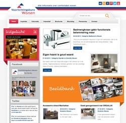 Homepage Voorlichtingsburo Wonen