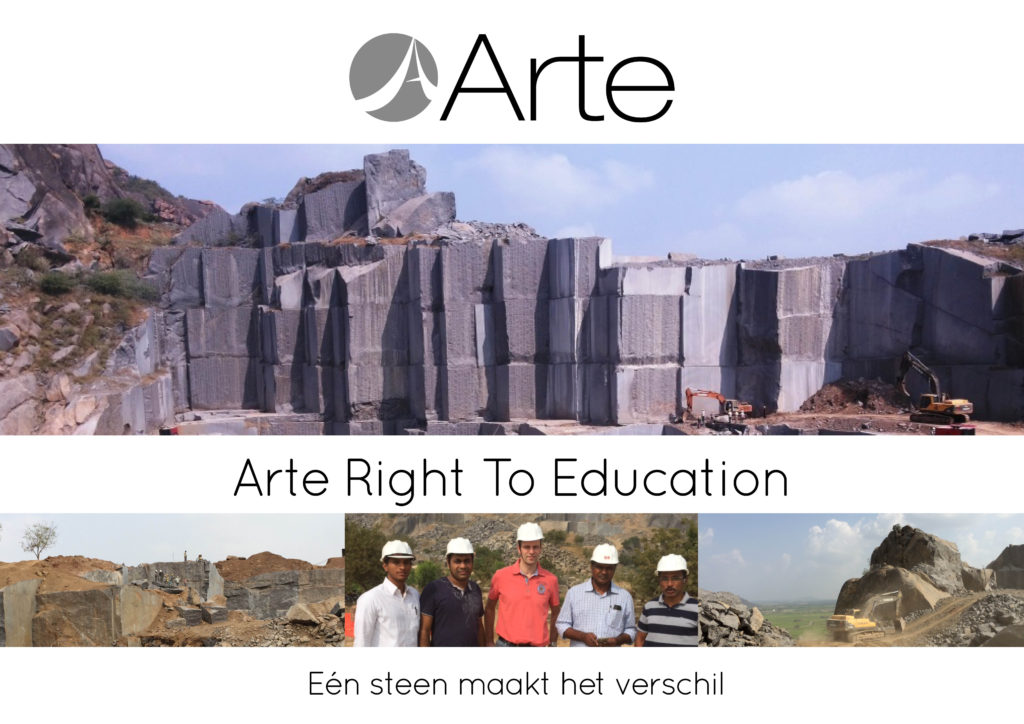 Arte Right to Education project India